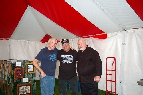John Hosier, Larry Stimeling, Gary Jacobson