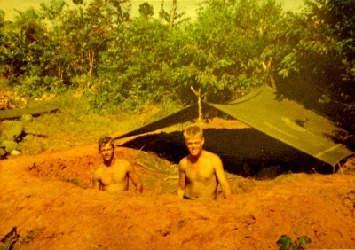 Foxhole in Nam