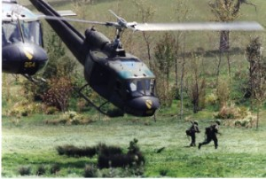 extracting at LZ...1stCav