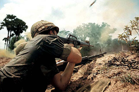 photo by Larry Burrows in Cambodia
