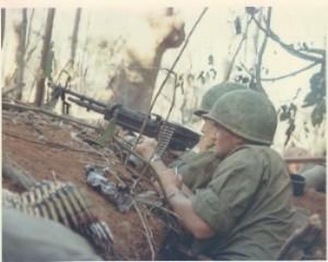 M-60 machin gun