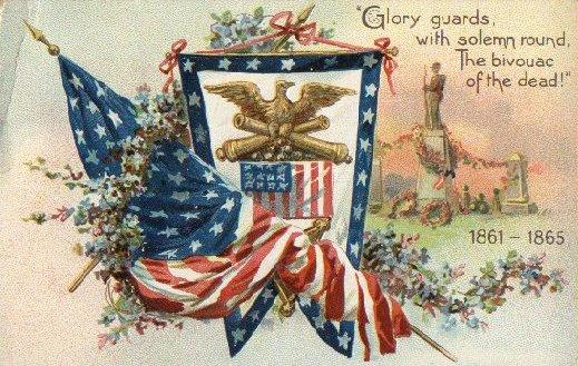 old patriotic card