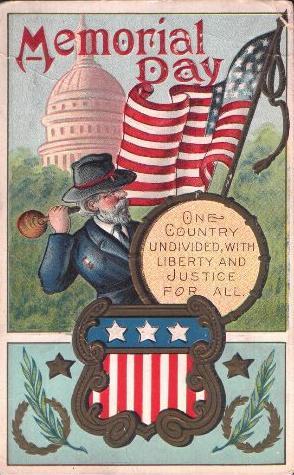 1910 patriotic card