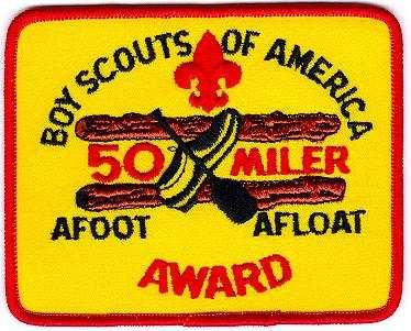 50 mile award